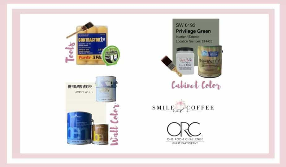 BEAUTIFUL HOME OFFICE – PAINT CHOICES – ONE ROOM CHALLENGE – WEEK 2 (Spring 2021)